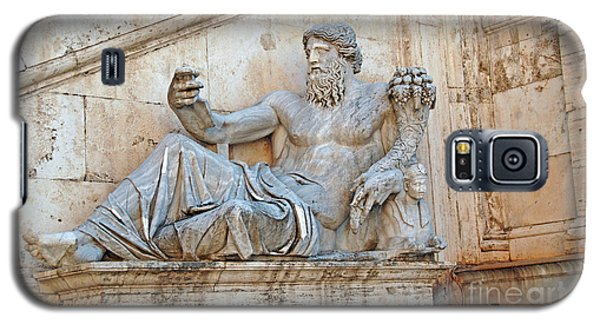 Statue Capitoline Hill Of Rome Italy Galaxy S5 Case