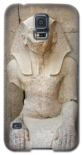 Statue From Pink Granite In Karnak Temple Galaxy S5 Case