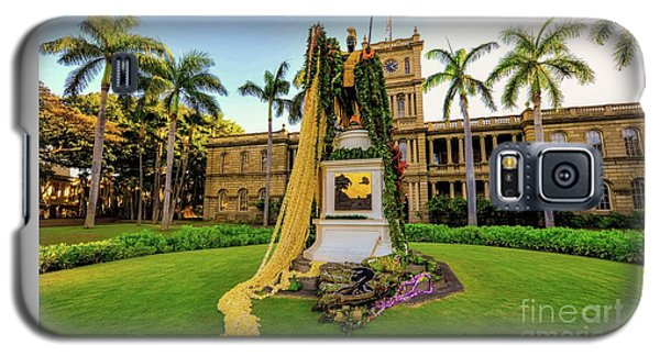 Statue Of, King Kamehameha The Great Galaxy S5 Case