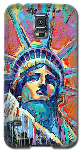 Statue Of Liberty New York Art Usa Galaxy S5 Case