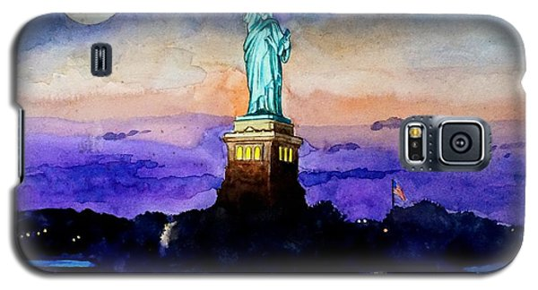 Statue Of Liberty New York Galaxy S5 Case