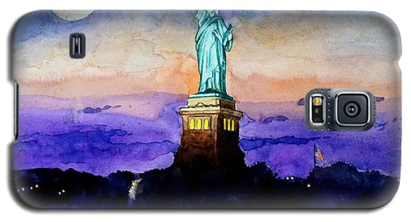 Statue Of Liberty New York Galaxy S5 Case