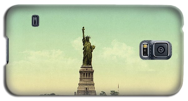 Statue Of Liberty, New York Harbor Galaxy S5 Case by Unknown