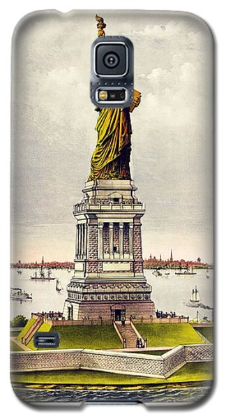 Statue Of Liberty Galaxy S5 Case by Pg Reproductions