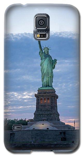 Statue Of Liberty - Sunset Galaxy S5 Case