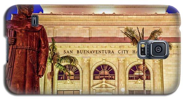 Statue Of Saint Junipero Serra In Front Of San Buenaventura City Hall Galaxy S5 Case