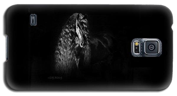 Statuesque Black Beauty Galaxy S5 Case