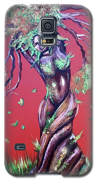 Galaxy S5 Case - Stay Rooted- Stay Grounded by Artist RiA