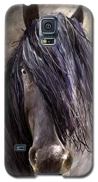 Galaxy S5 Case featuring the painting Steady by James Shepherd
