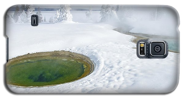 Steam And Snow Galaxy S5 Case by Gary Lengyel