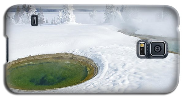 Steam And Snow Galaxy S5 Case