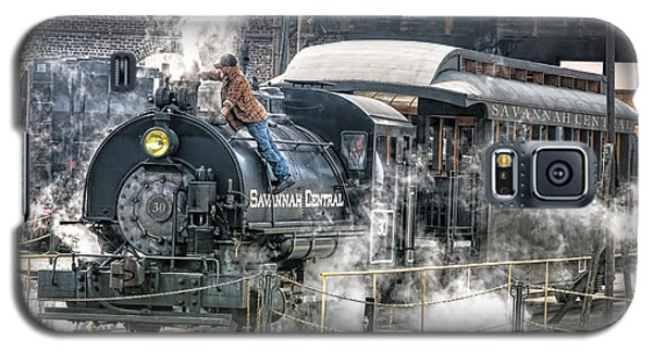 Steam Engine #30 Galaxy S5 Case