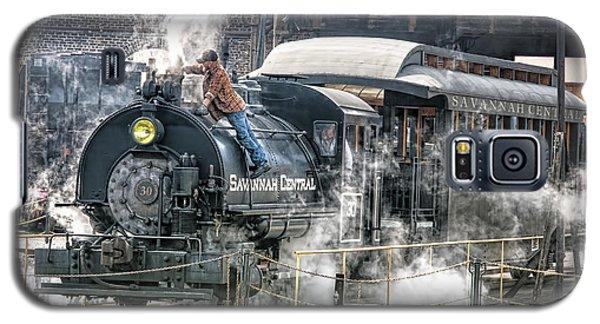 Steam Engine #30 Galaxy S5 Case by Scott Hansen