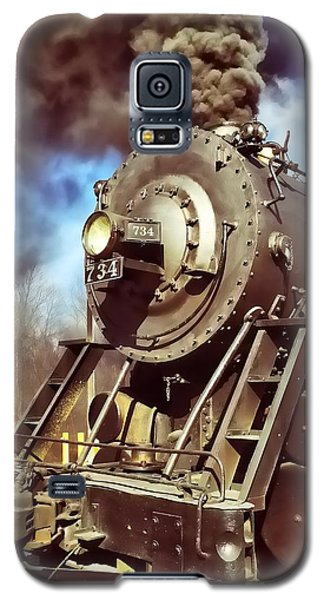 Steam Engine Galaxy S5 Case