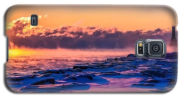 Steam Fog Two Panorama Galaxy S5 Case