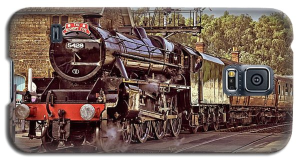 Steam Loco On Yorkshire Railway Galaxy S5 Case