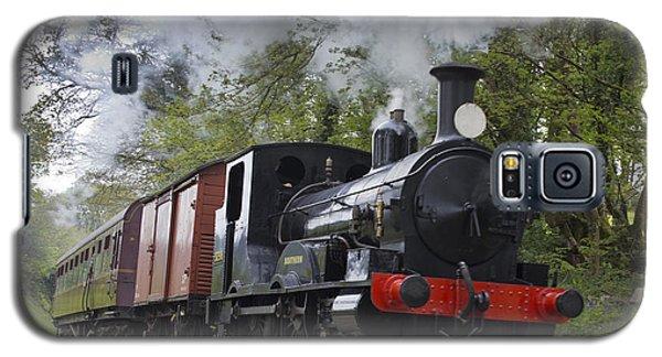 Steam Locomotive 3298 In Cornwall Galaxy S5 Case