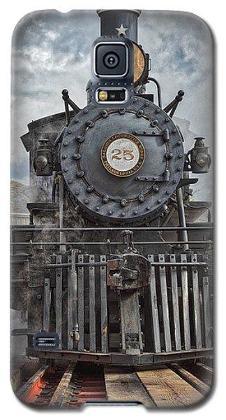 Steam Locomotive Galaxy S5 Case by Mitch Shindelbower