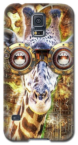 Steam Punk Giraffe Galaxy S5 Case