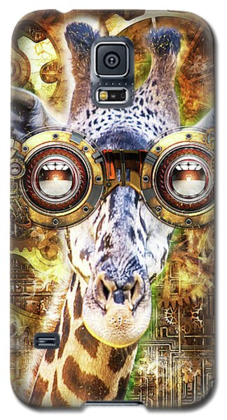Steam Punk Giraffe Galaxy S5 Case