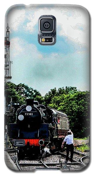 Steam Train Approaching Galaxy S5 Case
