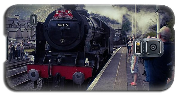 Steam Train, Ffestiniog, North Wales Galaxy S5 Case