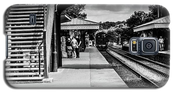 Steam Train In The Station Galaxy S5 Case
