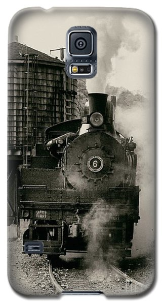Galaxy S5 Case featuring the photograph Steam Train by Jerry Fornarotto