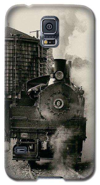 Steam Train Galaxy S5 Case by Jerry Fornarotto