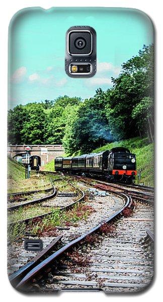 Steam Train Nr The Bridge Galaxy S5 Case