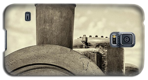 Galaxy S5 Case featuring the photograph Steam Train Series No 2 by Clare Bambers
