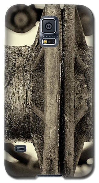 Galaxy S5 Case featuring the photograph Steam Train Series No 31 by Clare Bambers