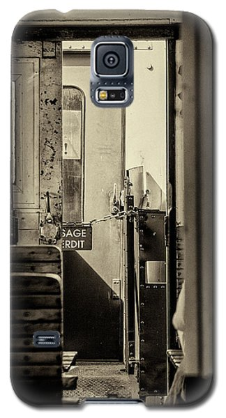Galaxy S5 Case featuring the photograph Steam Train Series No 33 by Clare Bambers