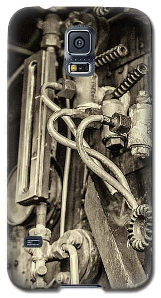 Galaxy S5 Case featuring the photograph Steam Train Series No 36 by Clare Bambers