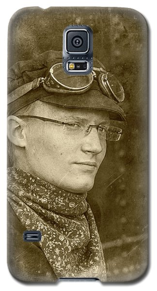 Galaxy S5 Case featuring the photograph Steam Train Series No 37 by Clare Bambers