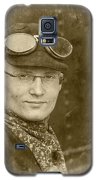 Galaxy S5 Case featuring the photograph Steam Train Series No 39 by Clare Bambers