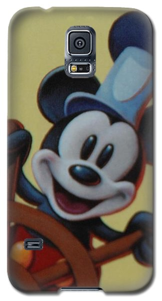 Steamboat Willy Galaxy S5 Case by Rob Hans