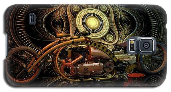 Galaxy S5 Case featuring the photograph Steampunk Chopper by Louis Ferreira