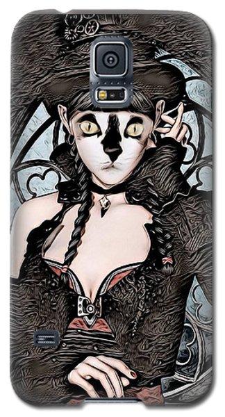 Steampunk Kitty By Artful Oasis Galaxy S5 Case