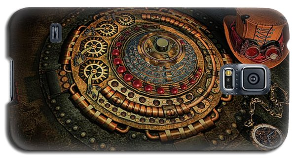 Galaxy S5 Case featuring the photograph Steampunk by Louis Ferreira