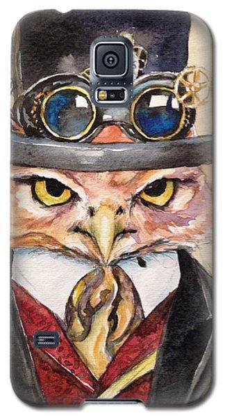 Steampunk Owl Mayor Galaxy S5 Case