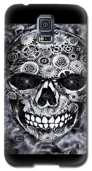 Steampunk Skull Galaxy S5 Case