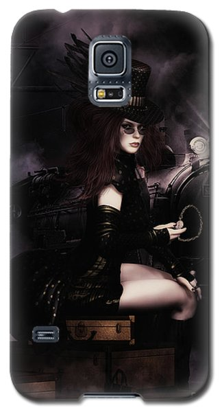 Steampunkxpress Galaxy S5 Case by Shanina Conway