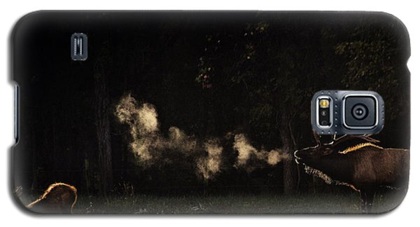 Steamy Breath Elk Bugle Galaxy S5 Case