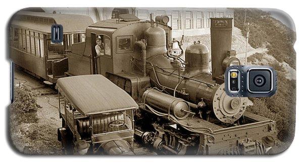 Stean Engine No. 8 Mount Tamalpais Circa 1920 Galaxy S5 Case