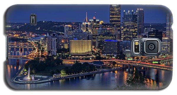 Steel City Glow Galaxy S5 Case