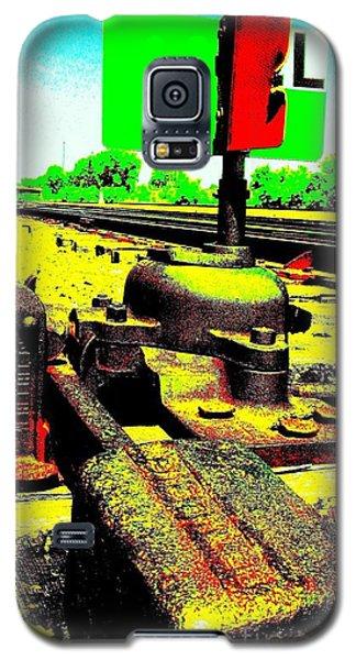 Steel Diesel Track Signal Galaxy S5 Case by Peter Gumaer Ogden