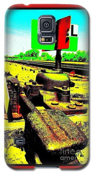 Steel Diesel Track Signal Galaxy S5 Case