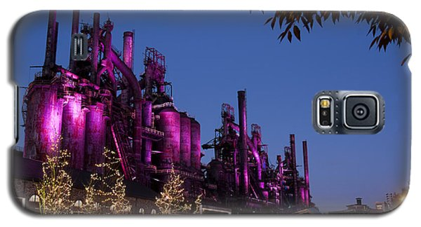 Steel Stacks At Night Galaxy S5 Case