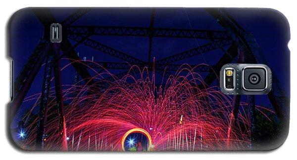 Steel Wool Spinner Galaxy S5 Case